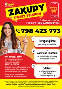 Gazetka promocyjna Twój Market - Co tydzień taniej z Twój Market! - ważna do 21-04-2020