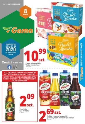 Promocje wiosenne w sklepach Gama