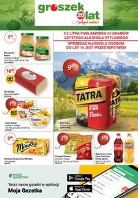 Gazetka promocyjna Groszek  - Korzystne ceny w sieci Groszek!  - ważna do 28-04-2020