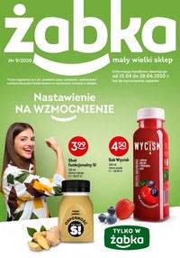 Gazetka promocyjna Żabka - Nastawienie na wzmocnienie - Żabka - ważna do 28-04-2020