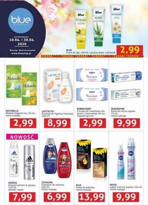 Promocje w drogeriach Blue Stop