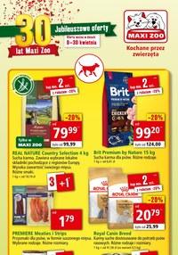 Gazetka promocyjna Maxi ZOO - Jubileuszowe oferty w Maxi Zoo!  - ważna do 30-04-2020