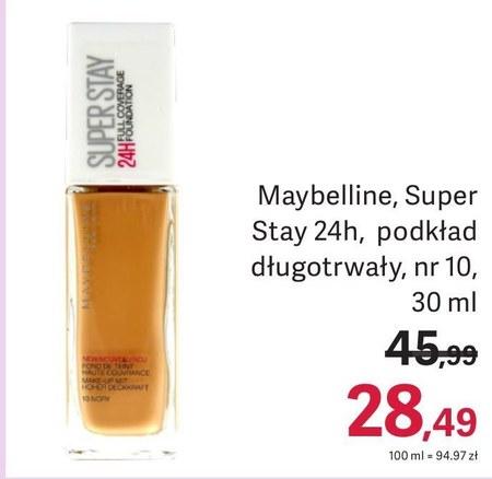 Podkład do twarzy Maybelline