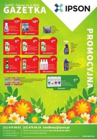 Gazetka promocyjna Ipson - Czystość i higiena w Ipson - ważna do 08-05-2020