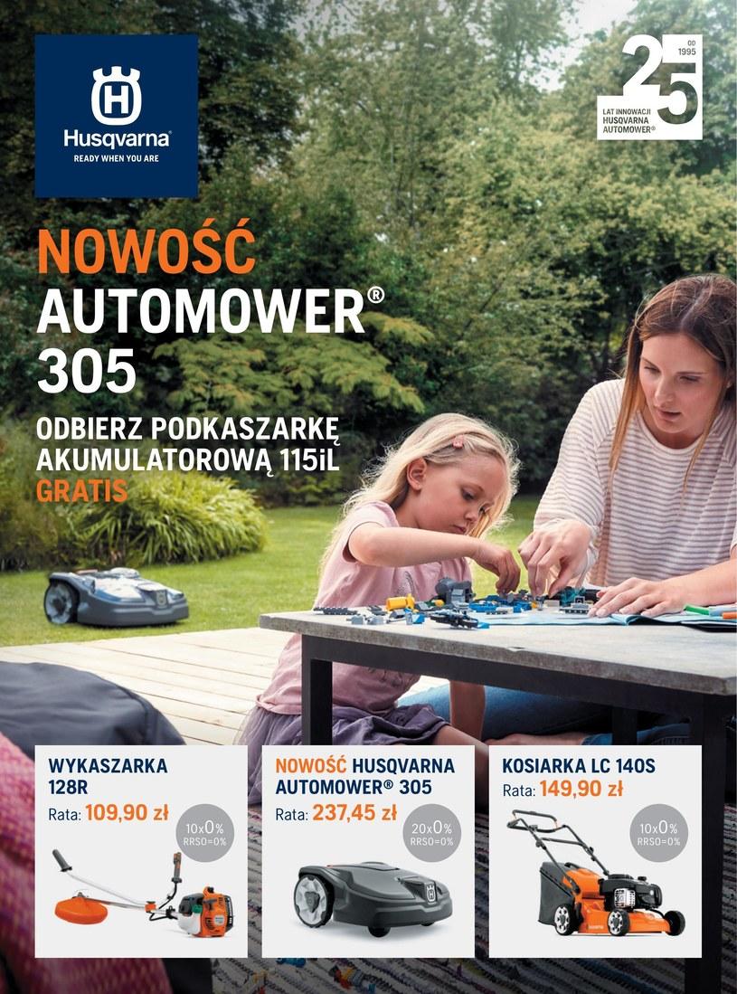 Gazetka promocyjna Husqvarna - ważna od 01. 04. 2020 do 31. 05. 2020