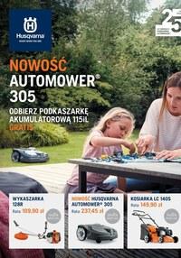 Gazetka promocyjna Husqvarna - Nowości w Husqvarnie - ważna do 31-05-2020