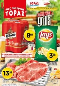 Gazetka promocyjna Topaz - Grilluj razem z Topaz! - ważna do 06-05-2020