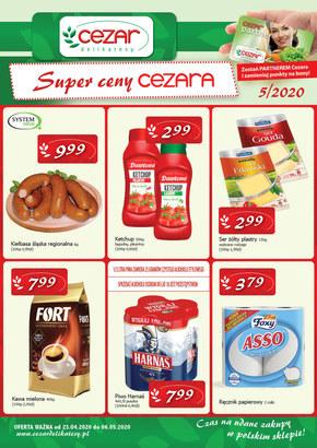 Super ceny w Delikatesach Cezar
