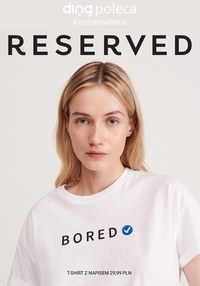 Gazetka promocyjna Reserved - Modne inspiracje w Reserved! - ważna do 30-04-2020