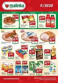 Gazetka promocyjna MALINKA Market - Promocje w Malinka Market - ważna do 05-05-2020