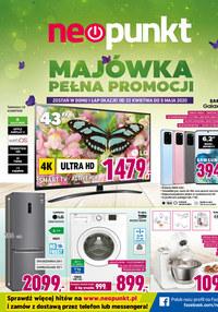 Gazetka promocyjna NEOPUNKT - Majówka pełna promocji w Neopunkt - ważna do 05-05-2020