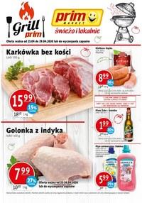 Gazetka promocyjna Prim Market - Grillowanie w Prim Market - ważna do 29-04-2020