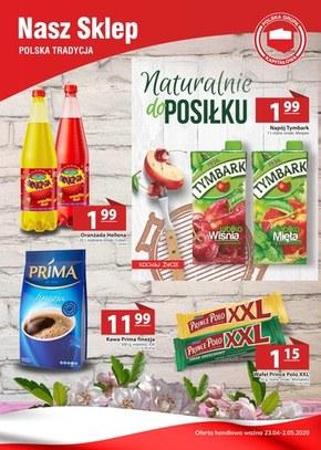 Gazetka promocyjna Nasz Sklep!