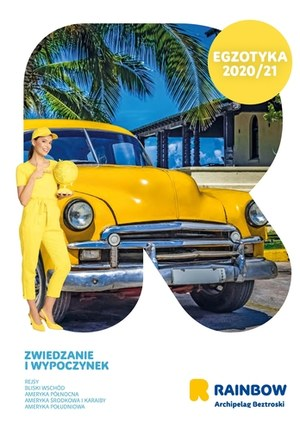 Gazetka promocyjna Rainbow Tours - Egzotyka Zima 2020/21 - Rainbow Tours