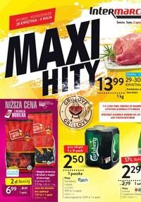 Gazetka promocyjna Intermarche Super - Maxi Hity w Intermarche! - ważna do 04-05-2020
