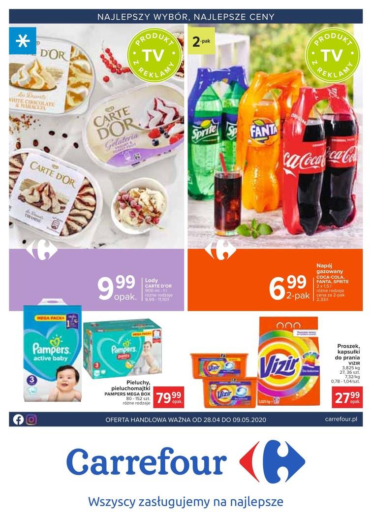 Carrefour Gazetka Promocyjna oferty, rabaty, kupony [27.04