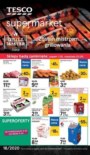 Promocje na grill w Tesco Supermarket!