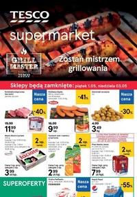 Gazetka promocyjna Tesco Supermarket - Promocje na grill w Tesco Supermarket! - ważna do 06-05-2020