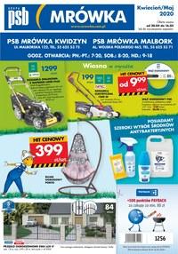Gazetka promocyjna PSB Mrówka - PSB Mrówka Kwidzyn, Malbork - ważna do 16-05-2020