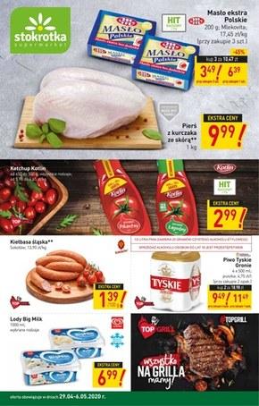 Stokrotka Supermarket gazetka promocyjna