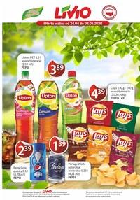 Gazetka promocyjna Livio - Promocje w sklepach Livio! - ważna do 09-05-2020