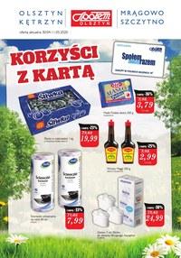 Gazetka promocyjna Społem Olsztyn - Super promocje w Społem Olsztyn! - ważna do 11-05-2020