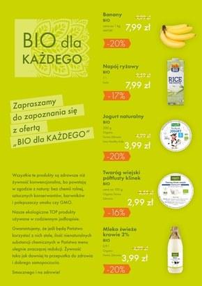 Promocje w sklepach Organic
