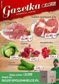 Gazetka promocyjna Społem Kielce - Sklep internetowy Społemu Kielce  - ważna do 11-05-2020