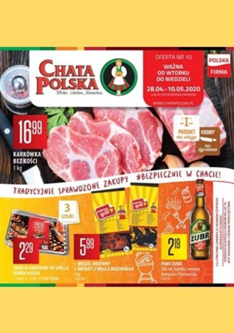 Gazetka promocyjna Chata Polska - wygasła 18 dni temu
