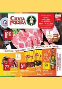 Gazetka promocyjna Chata Polska - Sprawdzone zakupy w Chacie Polskiej! - ważna do 10-05-2020