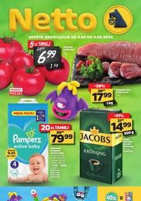 Gazetka promocyjna Netto - Najnowsza oferta spożywcza Netto - ważna do 09-05-2020