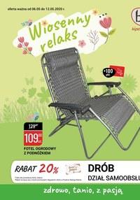 Gazetka promocyjna bi1 - Wiosenny relaks z bi1 - ważna do 12-05-2020