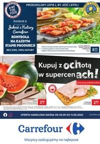 Gazetka promocyjna Carrefour - Carrefour - kupuj z ochotą w supercenach! - ważna do 11-05-2020