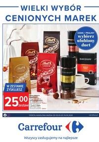 Gazetka promocyjna Carrefour - Carrefour - wielki wybór cenionych marek - ważna do 16-05-2020