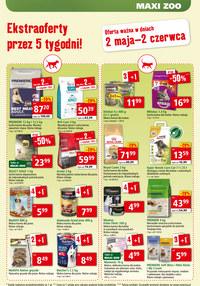 Gazetka promocyjna Maxi ZOO - Ekstra oferty w Maxi Zoo! - ważna do 02-06-2020