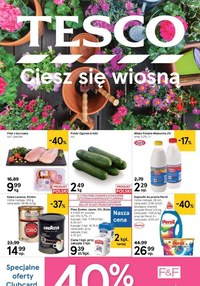 Gazetka promocyjna Tesco Centra Handlowe - Ciesz się wiosną z Tesco! - ważna do 13-05-2020