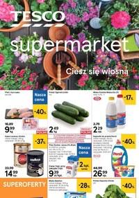 Gazetka promocyjna Tesco Supermarket - Jeszcze więcej okazji w Tesco - ważna do 13-05-2020
