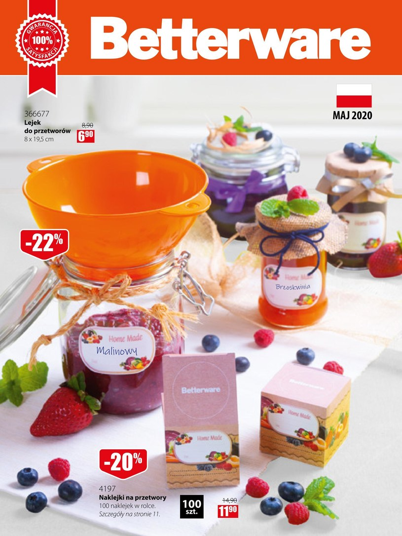 Betterware: 1 gazetka