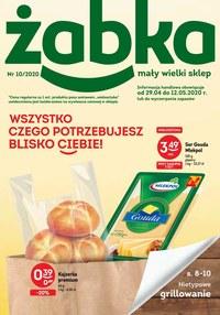 Gazetka promocyjna Żabka - Majówkowe grillowanie w Żabce - ważna do 12-05-2020