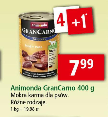 Karma dla psa Animonda Gran Carno