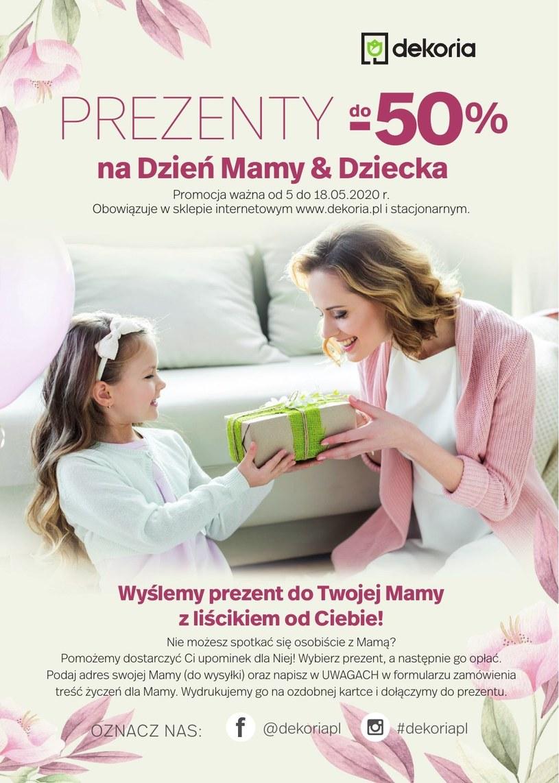 Gazetka promocyjna Dekoria - wygasła 17 dni temu