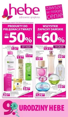 Promocje w sklepach Hebe!