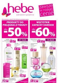 Gazetka promocyjna Hebe - Promocje w sklepach Hebe! - ważna do 20-05-2020