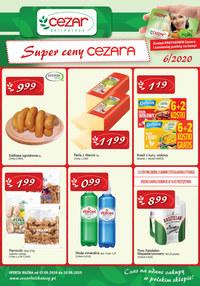 Gazetka promocyjna Delikatesy CEZAR - Super ceny w Delikatesach CEZAR - ważna do 20-05-2020