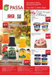 Gazetka promocyjna Passa - Super promocja w sklepach Passa! - ważna do 23-05-2020