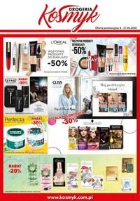 Gazetka promocyjna Drogeria Kosmyk - Kosmetyki w dobrej cenie - Drogeria Kosmyk - ważna do 31-05-2020