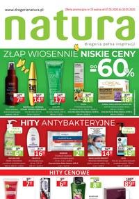 Gazetka promocyjna Drogerie Natura - Zawsze niskie ceny w Drogerii Natura! - ważna do 20-05-2020