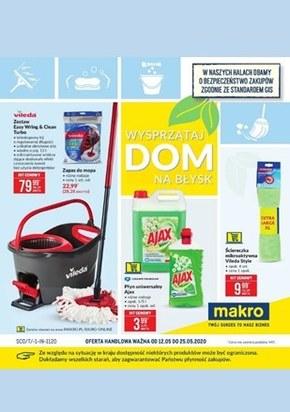 Wysprzątaj dom na błysk z Makro