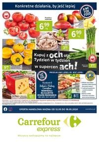 Gazetka promocyjna Carrefour Express - Oferta handlowa Carrefour Express - ważna do 18-05-2020