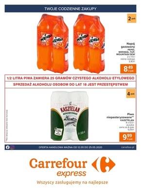Gazetka promocyjna Carrefour Express